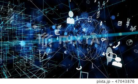 ネットワーク 47043876