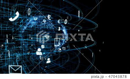 ネットワーク 47043878