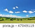 青空 夏 美瑛の写真 47049119