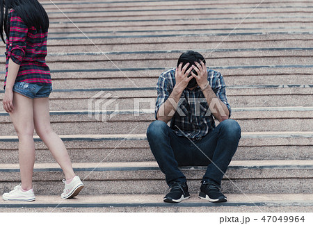couple breaking up and ending relation 47049964
