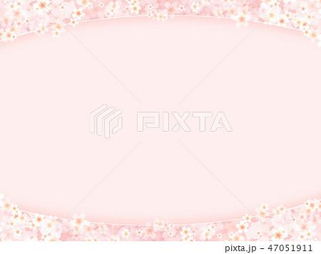 和-和風-和柄-背景-和紙-春-桜-ピンク 47051911