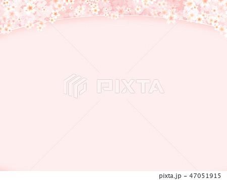 和-和風-和柄-背景-和紙-春-桜-ピンク 47051915