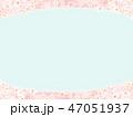 桜 背景 和柄のイラスト 47051937