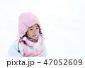 子ども 女の子 人物の写真 47052609