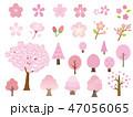 桜 春 花のイラスト 47056065
