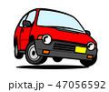 自動車 軽自動車 ジャンプのイラスト 47056592