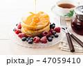 パンケーキ 47059410