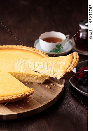 チーズケーキタルト 47059768