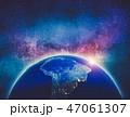 地球 マップ 地図のイラスト 47061307