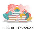 勉強 ブック 本のイラスト 47062027