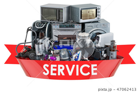 Household and kitchen appliances, service 47062413
