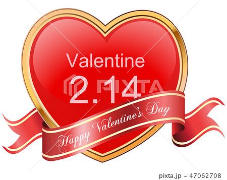 バレンタイン素材 47062708