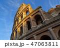 冬晴れのコロッセオ 47063811