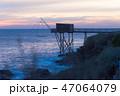 夕日 夕焼 日没の写真 47064079