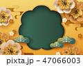 コピ-スペース 桜 サクラのイラスト 47066003