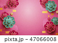 花 バックグラウンド 背景のイラスト 47066008