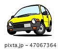 自動車 軽自動車 ベクターのイラスト 47067364