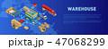 アイソメトリック アイソメ 等角図のイラスト 47068299