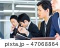 ビジネス 男性 人物の写真 47068864