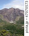 火山 活火山 桜島の写真 47070573