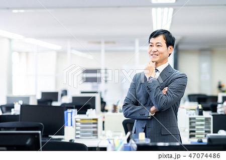 ビジネスマン  47074486