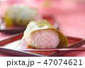 桜餅 和菓子 輪の写真 47074621