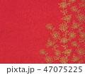 花 植物 赤のイラスト 47075225