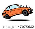 自動車 軽自動車 ベクターのイラスト 47075682