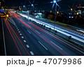 夜 道路 夜景の写真 47079986