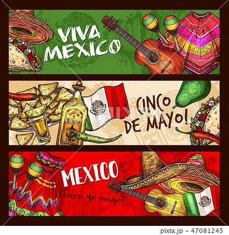 Cinco de Mayo Mexican holiday celebration 47081245