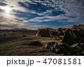 サハラ砂漠 モロッコ 砂漠の写真 47081581