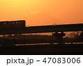 立日橋 モノレール 橋の写真 47083006