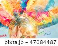 カーニバル 謝肉祭 お面の写真 47084487