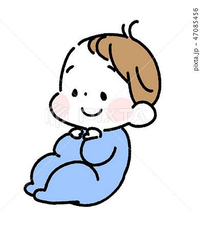 笑顔のあかちゃん 47085456