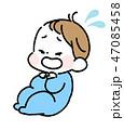 泣いている赤ちゃん 47085458