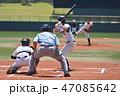 高校野球の試合 47085642