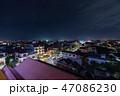 カンボジア・シェムリアップの街並み 夜景 47086230