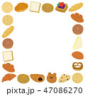 パン 菓子パン ブレッドのイラスト 47086270