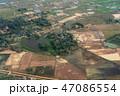 カンボジアの大地 俯瞰 47086554