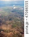 カンボジアの大地 俯瞰 47086555