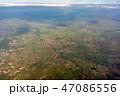 カンボジアの大地 俯瞰 47086556