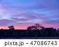 【絶景】【世界遺産】アンコールワットの夕暮れ 47086743
