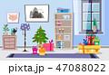 インテリア プレゼント 贈り物のイラスト 47088022