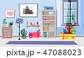 インテリア プレゼント 贈り物のイラスト 47088023