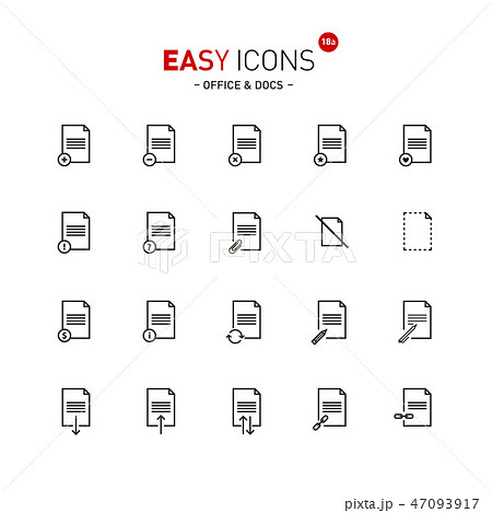 Easy icons 18a Docs 47093917