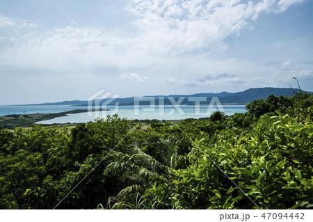 おきなわ 風景 小浜島の大岳からの眺め 47094442