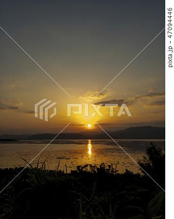 おきなわ 風景 小浜島のサンセット 47094446