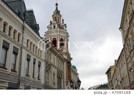ロシア モスクワ街並み 47095168