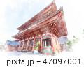 浅草 水彩画風 47097001