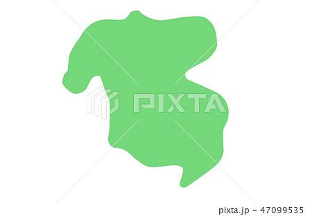 大分県 地図 イラスト 47099535